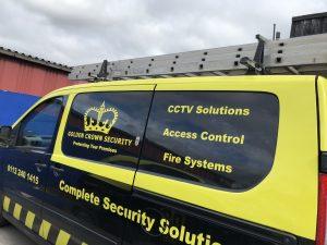 CCTV Van